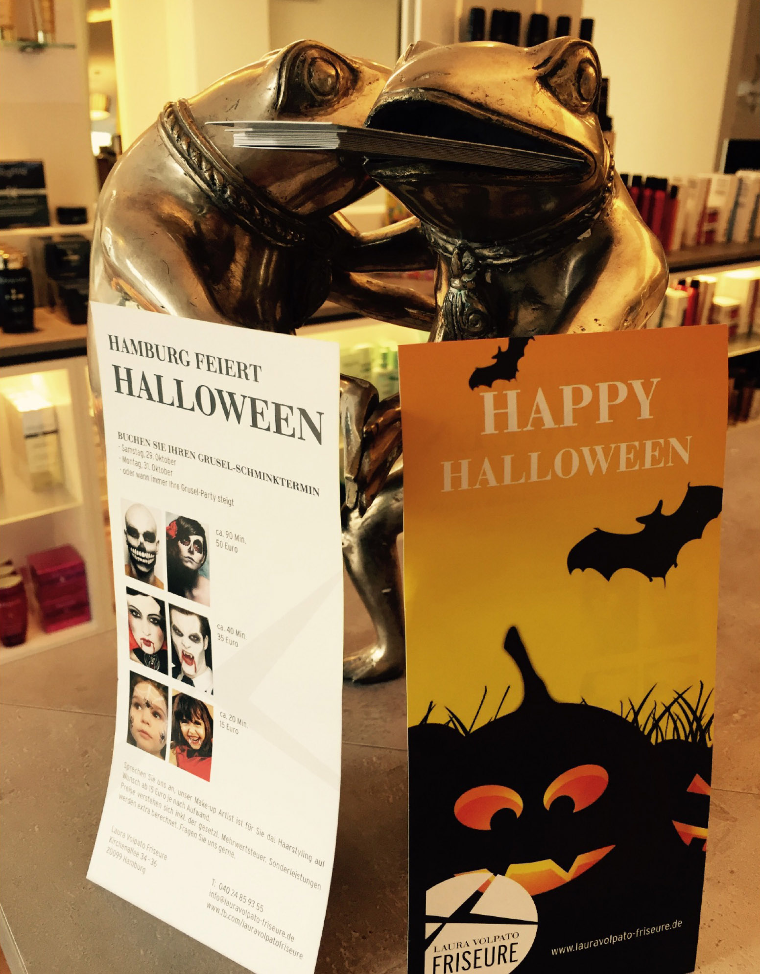 Laura Volpato Friseure - Halloween-Angebote